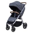 【預購-11月初到貨】Britax Agile M 旗艦款嬰兒推車-月光灰 (附贈- 杯架+雨罩)