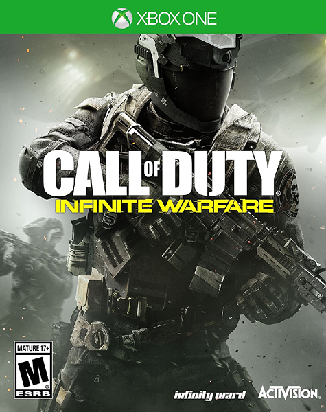 X1 Call of Duty: Infinite Warfare - Standard Edition 決勝時刻:無盡戰爭(美版代購)