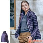 Wildland 荒野 0A62105-79深紫色 女700FP輕量羽絨外套 防風外套/羽絨夾克/保暖大衣/羽絨服/禦寒衣*