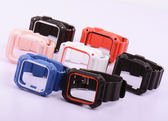 適用蘋果運動硅膠防摔一體殼iwatch1/2/3手錶帶【英賽德3C數碼館】