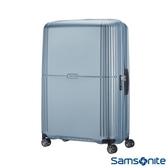 Samsonite 新秀麗 Orfeo 簡約方正線條PC硬殼 TSA嵌入式海關鎖 旅行箱/行李箱-25吋(銀藍)
