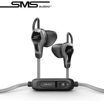 平廣 公司貨 SMS Audio x Intel BioSport 黑色 耳機 防潑汗水雷射標籤盒裝正品 單鍵線控麥克風