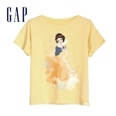 Gap 女童 Gap x Disney迪士尼系列公主圓領短袖T恤 591031-夢幻黃