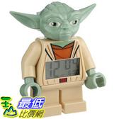 [美國直購] LEGO Kids 9003080 人偶鬧鐘 Star Wars Yoda Figurine Alarm Clock 尤達大師 星際大戰
