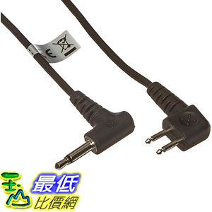 [美國直購] 3M Peltor FL6H 音頻輸入線 Audio Input Cable FL6H, 3.5mm Mono Plug, 36吋 Length, Black
