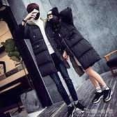 情侶棉服中長款冬季寬鬆版學生面包服大碼加厚棉襖外套男棉衣晴天時尚