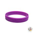 雨寶文殊5合1心咒手環190紫色 【十方佛教文物】