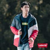Levis 男款 滑雪外套 / 色塊拼接 / 袖口Logo