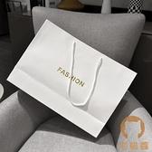 3個起 手提袋紙袋女裝衣服袋子購物禮品袋定制【宅貓醬】