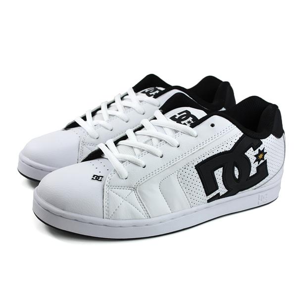 DC NET 運動鞋 白/黑 男鞋 30236193-WG1 no161