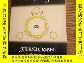 二手書博民逛書店the罕見fellowship of the ringY1150