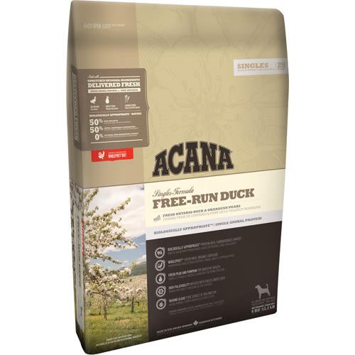 【寵物王國】ACANA愛肯拿-單一蛋白低敏無穀配方(美膚鴨肉+巴特利梨)2kg