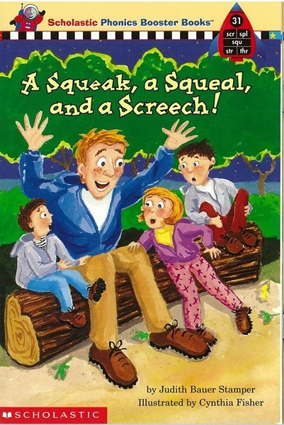 (二手書)Phonics Booster Books 31: A Squeal, and a Screech!