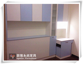 【系統家具】床頭櫃結合書桌