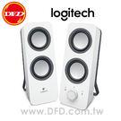 羅技 Logitech 立體聲音箱 Z200 低音調整鈕 3.5MM 黑白兩色 公司貨