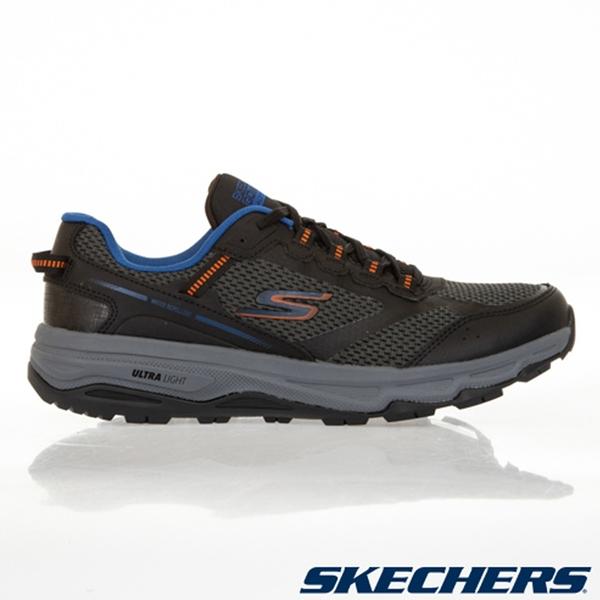 SKECHERS GORUN TRAIL ALTITUDE 男鞋 慢跑 越野 輕量 防潑水 灰藍【運動世界】220111BKOR