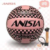 5#4#最新款 ins風格款經典款呆萌款充氣軟式排球中考用球