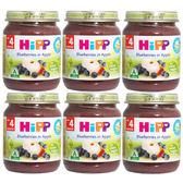 HiPP喜寶有 機蘋果小藍莓泥(6罐)[衛立兒生活館]