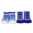娃娃城 Baby City 運動藍男童短襪2入禮盒 232元