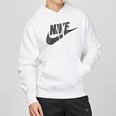 Nike Club Hoodie 男子 白色 刷毛 保暖 運動 休閒 帽T BV2974-100
