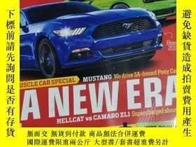 二手書博民逛書店TESTS罕見CAR 汽車雜誌 2014年11月 英文版Y42402