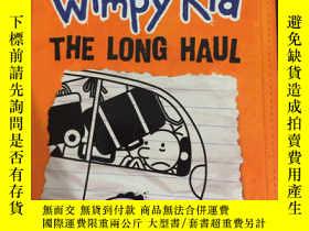 二手書博民逛書店Diary罕見of a Wimpy Kid the long h