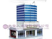 【大堂人本】大型景觀別墅系列-摩登商業銀行(紙紮) (特別訂製品)