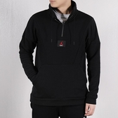 NIKE AS FLIGHT LOOP 1/4 ZIP 男款黑色半開襟大學T-NO.AV2293010