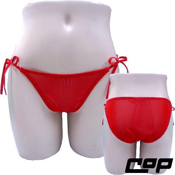 女內褲(COP)F680紅-F-綁帶後包