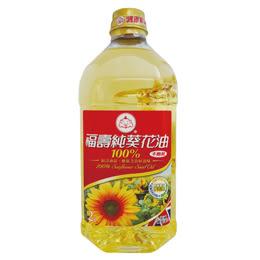 【福壽】福壽100%純葵花油2L*6