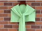 春夏季保暖護頸椎純色假領子潮裝飾打結圍巾...
