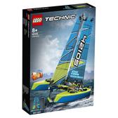 樂高積木 LEGO《 LT42105》科技 Technic 系列 -  Catamaran╭★ JOYBUS玩具百貨