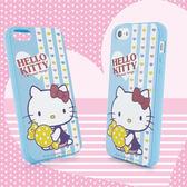 Sanrio 三麗鷗 Hello Kitty iPhone 5 甜點下午茶系列軟式保護套-糖果甜心◆贈! 晶鑽套 iPhone 4 保護殼◆