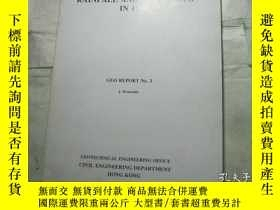 二手書博民逛書店RAINFALL罕見AND LANDSLIDES IN 1986