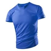 冰絲t恤男士短袖夏裝寬鬆透氣純色大碼T夏季衣服運動速乾體恤男裝  夏季上新