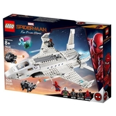 【LEGO樂高】超級英雄 蜘蛛人:離家日 斯塔克噴氣機&無人機攻擊 #76130