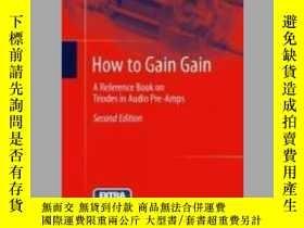 二手書博民逛書店How罕見to Gain GainY405706 Burkhard Vogel ISBN:978366250