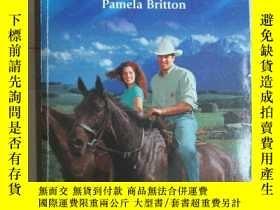 二手書博民逛書店COWBOY罕見LESSONS Pamela Britton65
