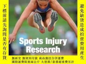 二手書博民逛書店Sports罕見Injury ResearchY255174 E