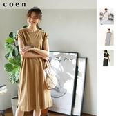 連身洋裝 USA美國棉 法國袖免運費 日本品牌【coen】