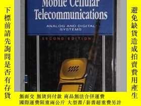二手書博民逛書店原版罕見Mobile Cellular Telecommunic