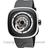 SEVENFRIDAY P3-3 解構世界自動上鍊機械錶-灰/47mm P3-3