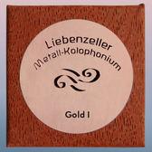 小叮噹的店- 松香 德國原廠 liebenzeller Gold 提琴金屬松香 世界頂級