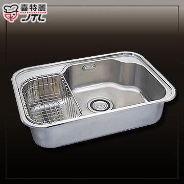 【買BETTER】喜特麗水槽/不鏽鋼水槽/流理台洗碗槽 JT-A6015不鏽鋼水槽(大單槽)★送6期零利率★