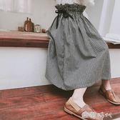女童半身裙春夏中長款春裝格子長裙春夏款a字兒童洋氣裙子 ⊱歐韓時代⊰