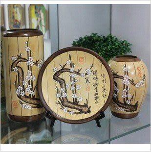 美少女系列家居裝飾擺件三件套花瓶
