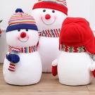 聖誕裝飾品25/35/45cm大號雪人道...