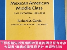 二手書博民逛書店英文原版: Rise罕見of the Mexican American Middle Class SAN