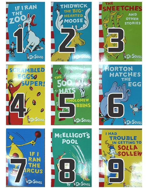 【麥克書店】Yellow Back Books /蘇斯博士分階讀本(黃底高階) ●三本658元