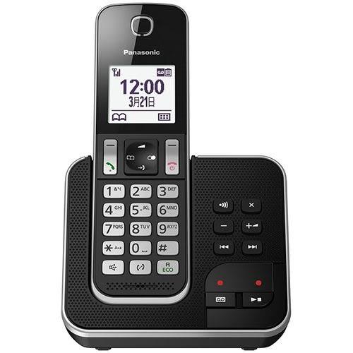 Panasonic 數位無線答錄電話機 (KX-TGD320TWB)